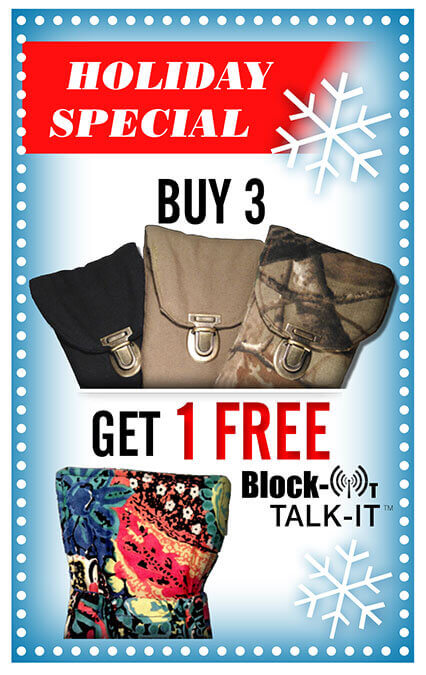 Buy 3 Block-It Pockets, Get 1 FREE Block-It TalkIt!
