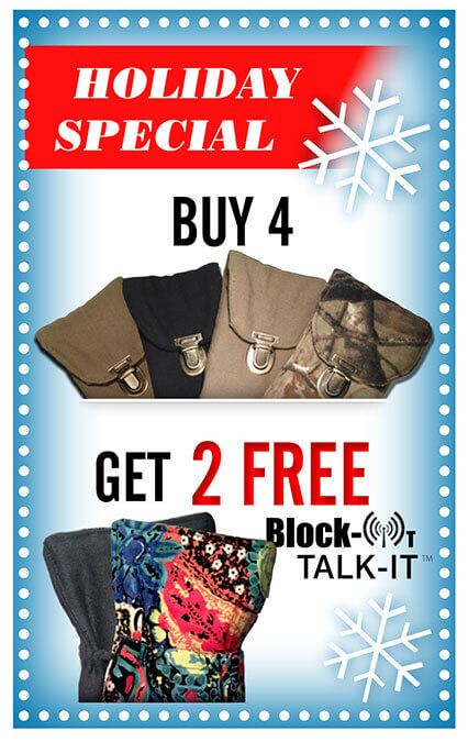 Buy 4 Block-It Pockets, Get 2 FREE Block-It TalkIts!